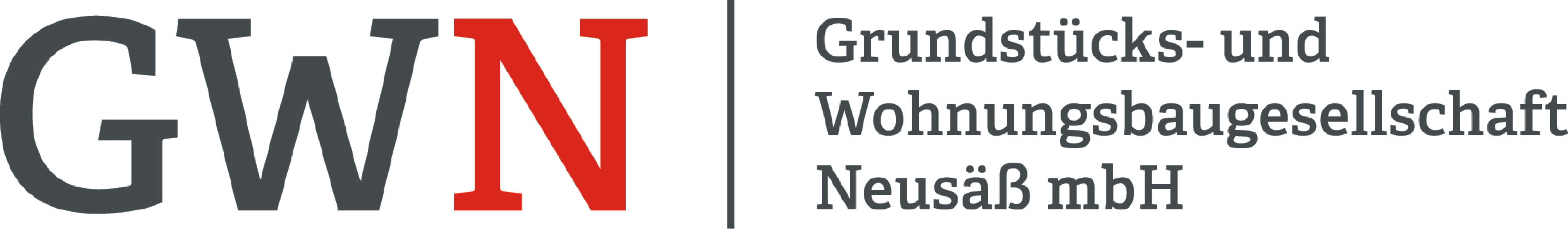 Logo der Grundstücks- und Wohnungsbaugesellschaft Neusäß mbH