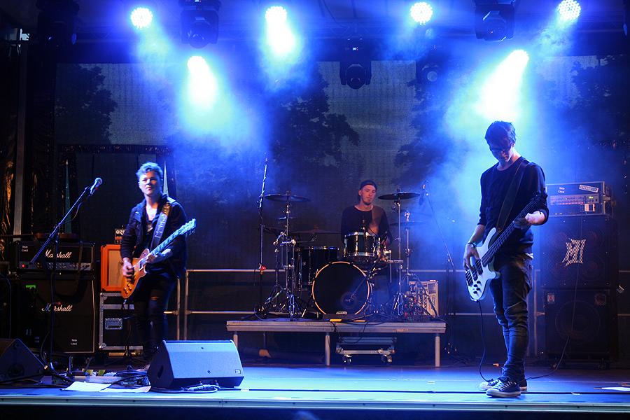 """Die Band """"Paincake"""" spielt bei CitySound."""