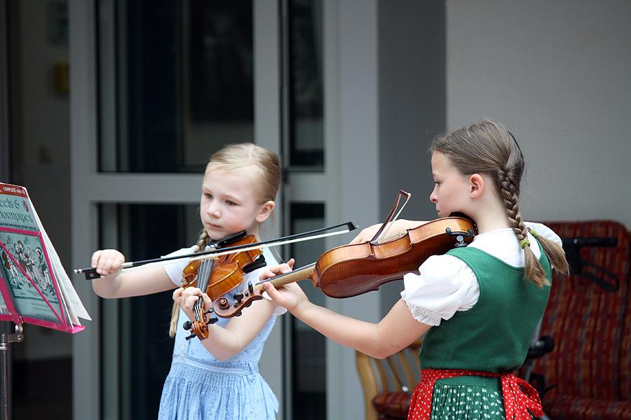 Violinensemble der Sing- und Musikschule Neusäß.