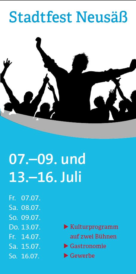 Anzeige Stadtfest
