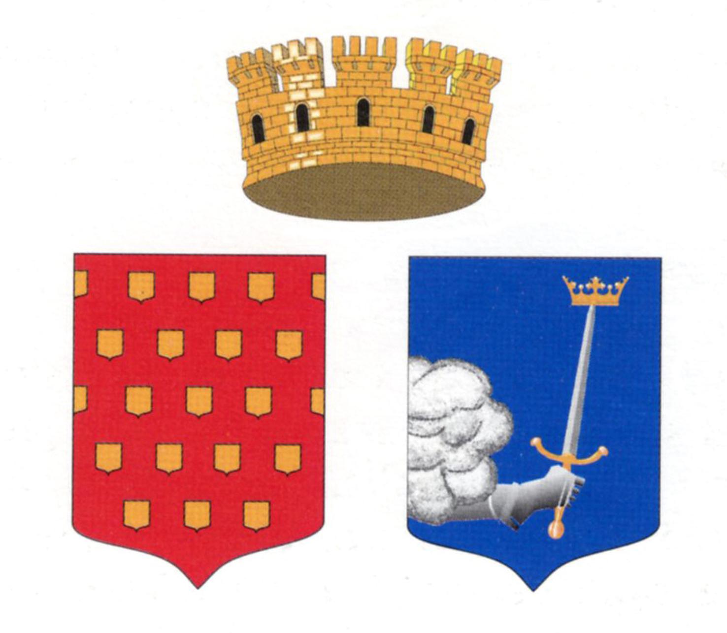 Wappen von Cusset