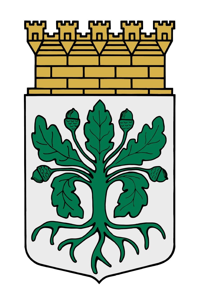 Das Wappen von Eksjö.