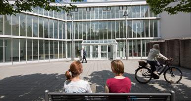 Das Rathaus Neusäß. Foto: Ulrike Klumpp