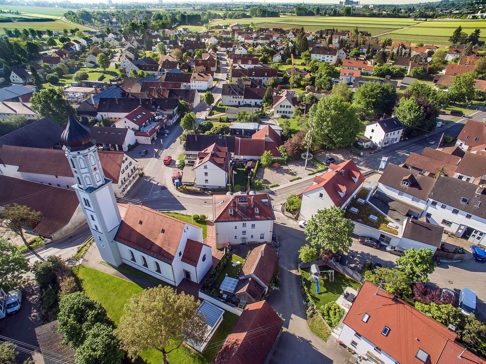 Kirche Mariä Himmelfahrt in Täfertingen. Foto: Ingo Dumreicher