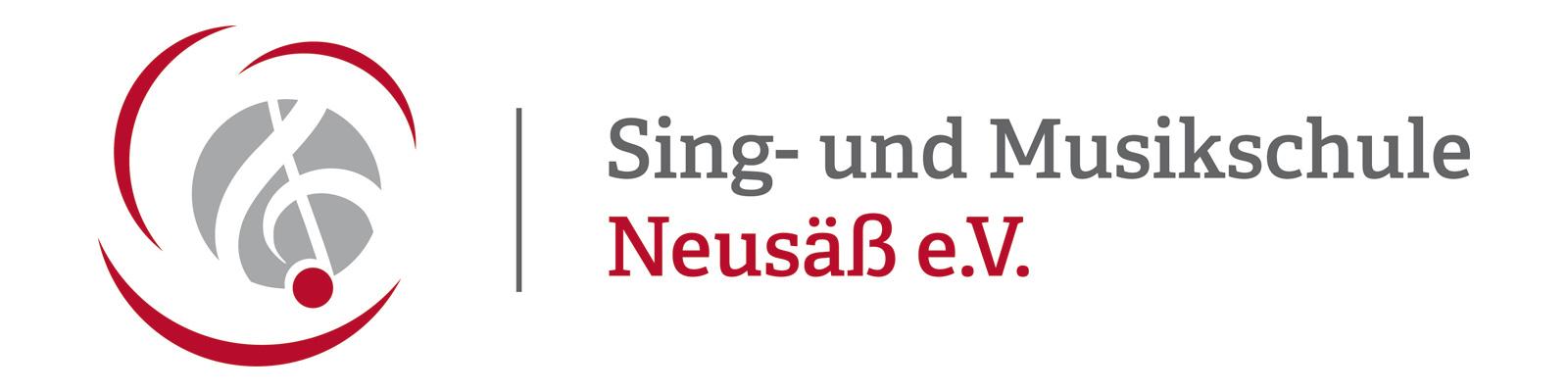 Logo der Sing- und Musikschule Neusäß.