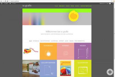 Homepage sc-grafix