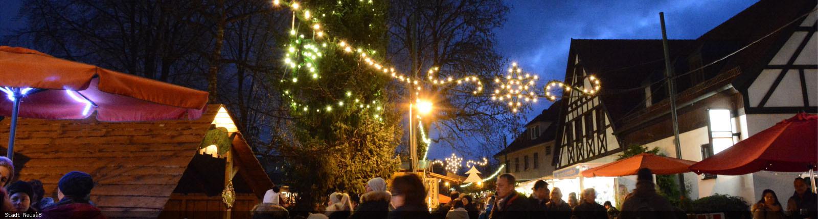 Weihnachtsmarkt Ende.Vorschau Weihnachtsmarkt Stadt Neusäß