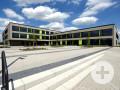 Gebäude Berufliche Schulen in Neusäß. Foto: Marcus Merk