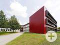 Anbau der Realschule Neusäß im Passivhausstandard . Foto: Arnulf Hettrich