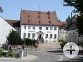 Traditionsreiches Gasthaus in Täfertingen. Der Gasthof Schmid. Foto: Kerstin Weidner