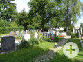 Friedhof in Ottmarshausen. Foto: Kerstin Weidner