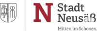 Logo der Stadt Neusäß mit Schriftzug Mitten im Schönen