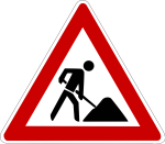 Baustellenzeichen