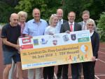 Organisatoren und Sponsoren des Landkreislaufes freuen sich auf den Startschuss am 24. juni 2018.
