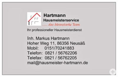 Service aus einer Hand rund ums Haus!