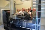 Notstromaggregat steigert Sicherheit  Der Zweckverband zur Wasserversorgung der Loderberggruppe hat zur Steigerung der Betriebssicherheit und zur nun vollständigen Versorgung des Verbandsmitglieds Aystetten eine Netzersatzanlage im alten Wasserhaus neben