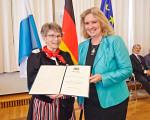Verleihung der Bayerischen Staatsmedaille für soziale Verdienste 2018. (© StMAS/Gert Krautbauer)