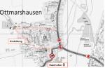 Vollsperrung des Straßenzuges Georg-Odemer-Straße / Mühlbachstraße