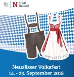 Plakat Volksfest 2018