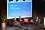 Diskussionsrunde mit (v.l.) Andreas Thiel, Richard Greiner, Christian Hörmann.