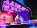 Der Musikkabarettist Roland Hefter begeisterte sein Publikum an der Bühne im Park.