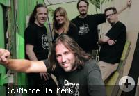 Roland Hefter mit seinen Bandkollegen