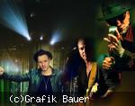 Drei Rockmusiker