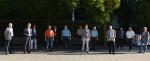 Die verabschiedeten Verbandsräte des Abwasserzweckverbands Schmuttertal (nicht alle o.g. auf dem Bild)