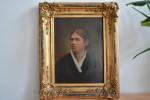 Porträt Anna Schreiber von A. Merkle