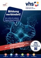 vhs Deckblatt Programm 2021