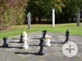 Garten-Schachspiel im Schmutterpark