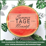 SommerTAGE Neusäß - Plakat
