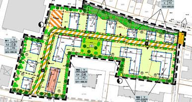 Bild eines Bebauungsplanes. Foto: Stadt Neusäß