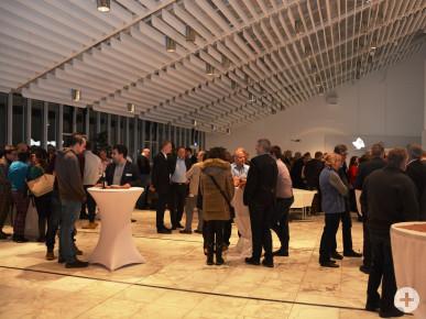 Über 140 Unternehmerinnen und Unternehmer besuchten den Unternehmerabend 2019.