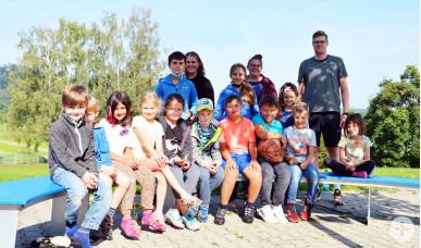 Gruppenfoto der letzten Betreuungswoche.